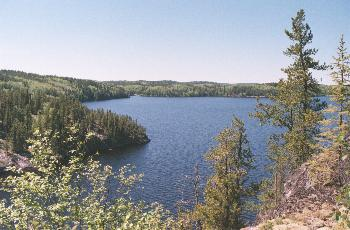 Bigshell Lake - Woodland Caribou Provincial Park